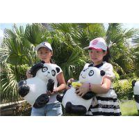 玻璃钢大熊猫景观雕塑 东莞玻璃钢厂家供应