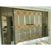 内蒙古包头厂家定制工艺玻璃 艺术拼镜 材质环保出口品质