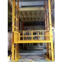 广州浩月机械-定制1吨-50吨导轨式液压升降货梯 升降装卸平台 液压升降机 电动升降台