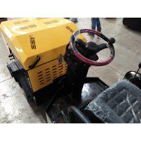 手扶式小型压路机手推式小型压实机人推式压土机