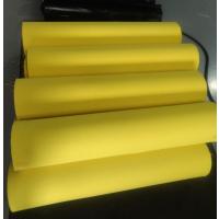 厂家供应120密度黄色发泡海绵 鞋垫 鞋材泡棉 高回弹海绵 欧斯莱 吸湿排汗,透气减震