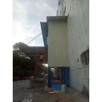 东莞石碣厂房高空作业电动升降货梯 液压载货提升式工作台 室外封彩瓦