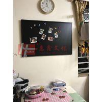 惠州两面都能用教学板O广州40x60cm双面黑板O办公记事小黑板