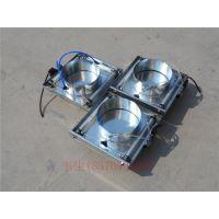 【江大】螺旋风管配件风阀 双叶手动风阀 气动插板阀 优质供应商
