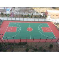 供应定制国标学校硅PU篮球场塑胶跑道运动场地专业施工(防滑耐磨)