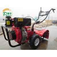 小菜园翻整用背负式松土机 柴油手扶旋耕机 动力式十足的汽油除草机