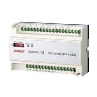 睿控厂家直销RSL-DI8 智能照明控制系统干接点模块传感器信号接收模块灯光集中控制器系统