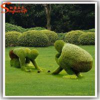 新园五色草观叶立体造型-人物002