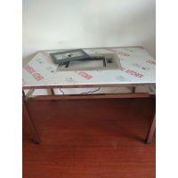 供应振鑫ZX-120j纸上烤炉桌烤羊腿自助餐桌设备