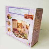 厂家定制350克卡纸盒 PVC开窗食品包装盒 玩具包装盒礼品彩盒 深圳印刷厂直销
