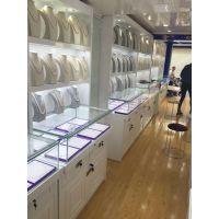 厦门珍珠展示柜价格,珍珠柜台装修,玻璃柜,珍珠高柜D8-2珍珠烤漆柜
