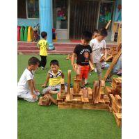户外进口实木玩具系列|幼儿园体能组合|建构区积木