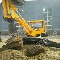 济宁恒旺 hw 厂家直销履带式旋挖钻机 旋挖钻机 大孔径钻机