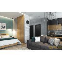 长沙家庭装修的单身公寓,要被他的卧室迷死了,想睡