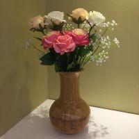 花瓶 竹制花瓶 复古花瓶 装花花器
