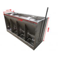猪用不锈钢干湿喂料器双面12孔不锈钢料槽哪家好