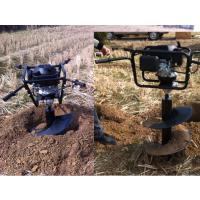 果树移植打坑机 润华机械 螺旋式立柱钻眼机 园林绿化挖树坑机
