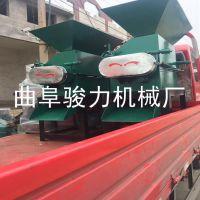 五谷杂粮压扁机 多功能对辊花生米磕瓣机 粮食加工轧碎机 骏力牌