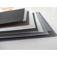 盛和金刚网铝合金纱窗边框材料型材 小孔防鼠金刚纱网现货