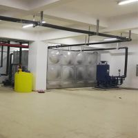 安徽不锈钢组合水箱 现场定制 地下室消防配套供水设备