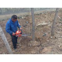 怀宁县园林手提挖树机 苗木移植起树机 二冲程起树机 浩发