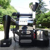 15Kg咖啡烘焙机燃气款商用coffee roaster 双层滚筒工艺南阳东亿