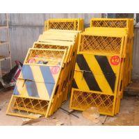 鸿宇筛网专业定做楼层电梯安全门 1.8*1.5米临边基坑护栏 有现货