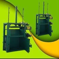 新款推包单缸液压打包机 启航泡面盒子液压打包机 塑料薄膜压块机