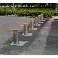 城市交通管理者对道路管理使用的自动升降不锈钢路桩产品生产厂家 金属路桩