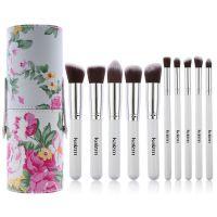 kainuoa/凯诺工厂批发印花桶装10支化妆刷套装 化妆工具