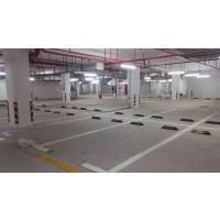 南昌大型露天停车场车位热熔画线施工厂家、热熔材料耐磨性强使用寿命长