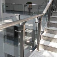金聚进 上海不锈钢阳台护栏 小区不锈钢玻璃栏杆BPE03 别墅商场栏杆安装设计