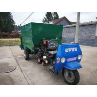 蓄电池供电自动撒料车 润丰 草料粉料都能用 柴油撒料车