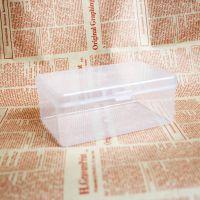 超级优质PP透明环保塑料收纳盒化妆棉包装盒大号收纳盒