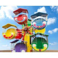 儿童乐园游乐设备观览车 小型游乐场设备小型摩天轮 儿童摩天轮