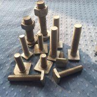 供应方头螺栓:规格M18*45热镀锌-头部尺寸28*38-现货10000套-低价销售