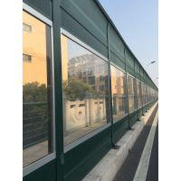 供应公路小区隔音声屏障 高铁两侧岩棉吸音防腐蚀耐力板声屏障