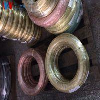 厂家生产直销H62慢走丝黄铜线 柳钉专用黄铜线 弹簧黄铜线