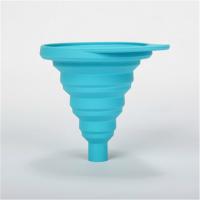 创意家居用品 硅胶折叠漏斗 便携式硅胶漏斗