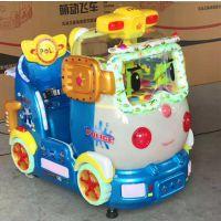 新设备小猪佩奇摇摆机 赛公主爆款投币摇摆机 室外娱乐最新样式摇摇车批发