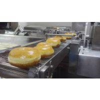 供应厂家全自动甜甜圈生产一体机 煜丰甜甜圈烘焙设备厂