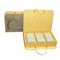 月饼盒中秋包装礼品硬纸盒 定做酒店广式月饼4粒6粒8粒月饼盒