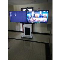CS灿盛视听品牌视频会议高端移动支架 内置走线无外漏 液晶电视支架