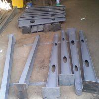 佛山乐从钢材世界 可定制 钢结构玻璃幕墙配件 雨棚钢梁 钢梁支架 牛腿支架 承重力强