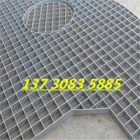 雅安四川钿汇鑫品牌异形钢格板Q235格栅盖板地沟盖板1.5*1.8米重型钢踏步板复合型钢格板