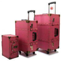 中国红拉杆箱,行李箱,旅行箱
