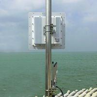 5.8G无线数字微波10公里传输设备.点对点,点对多点