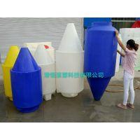 700升尖型锥底水箱塑料水塔300L屋顶供水利器700L可排空储罐