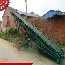 包装输送机械 润丰 玉米麦子装车皮带机价格
