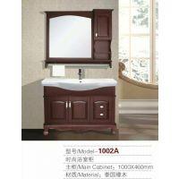 河南长葛浴室柜厂家,专业生产各种款型实木。PVC浴室柜